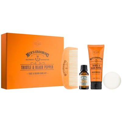 Scottish Fine Soaps Men's Grooming Thistle & Black Pepper set de cosmetice II. pentru bărbați