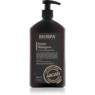 Sea of Spa Bio Spa Argan Shampoo for Dry and Damaged Hair
