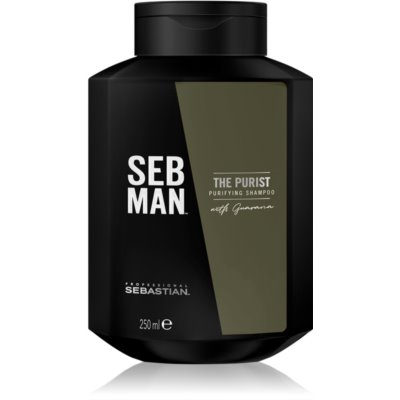 Sebastian Professional SEB MAN The Purist καθαριστικό σαμπουάν