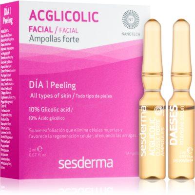 Sesderma Daeses & Acglicolic zestaw kosmetyków I. dla kobiet
