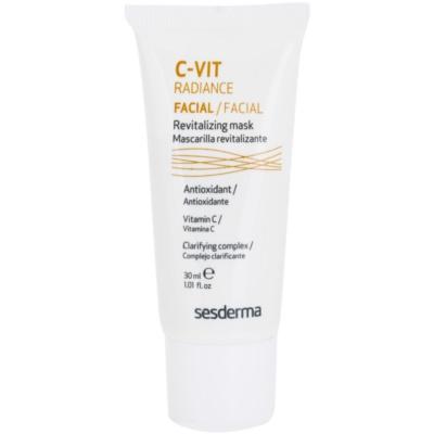 Sesderma C-Vit Radiance  освітлююча маска для втомленої шкіри