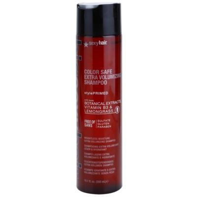 Sexy Hair Big objemový šampon pro barvené vlasy