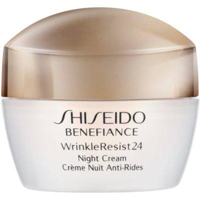 Shiseido Benefiance WrinkleResist24 Night Cream crema notte idratante antirughe