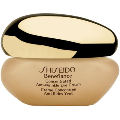 Shiseido Benefiance Concentrated Anti-Wrinkle Eye Cream očný krém proti opuchom a vráskam