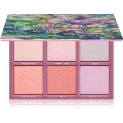 Sigma Beauty Chroma Glow palette d'enlumineurs