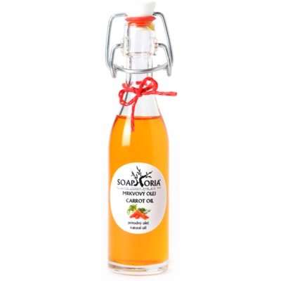 Soaphoria Organic tápláló sárgarépa olaj arcra, testre és hajra