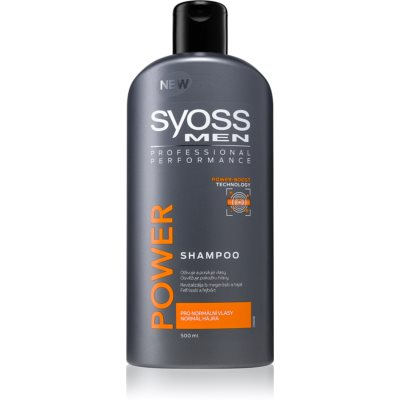 Syoss Men Power & Strength Shampoo For Hair Strengthening