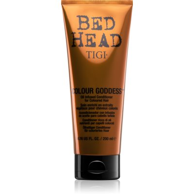 TIGI Bed Head Colour Goddess balsamo all'olio per capelli tinti