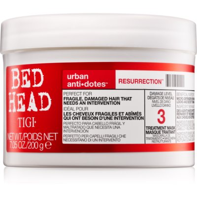 TIGI Bed Head Urban Antidotes Resurrection Revitaliserend Masker  voor Beschadigd en Broos Haar