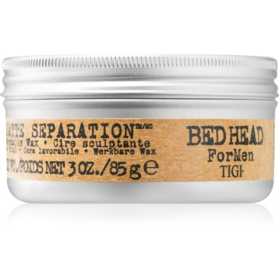 TIGI Bed Head B for Men Matte Separation cera matificante para cabelo