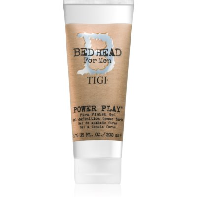 TIGI Bed Head B for Men Power Play stiling gel z močnim utrjevanjem