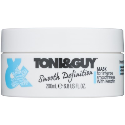 TONI&GUY Smooth Definition Gladmakende Masker  met Keratine