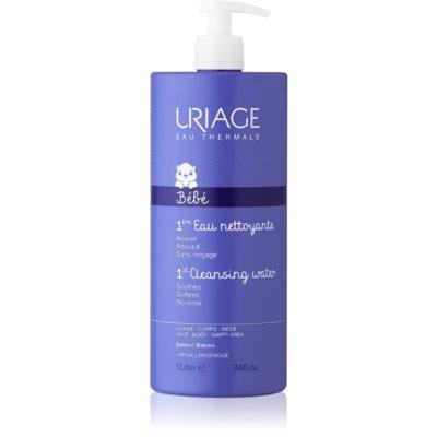 Uriage Bébé очищающая жидкость для тела и лица