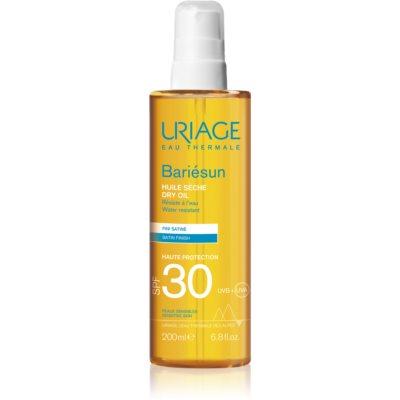 Uriage Bariésun сухое масло для загара SPF 30