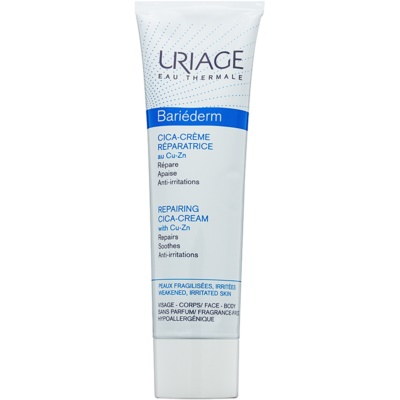 Uriage Bariéderm Cica Reparative Cream with Copper and Zinc