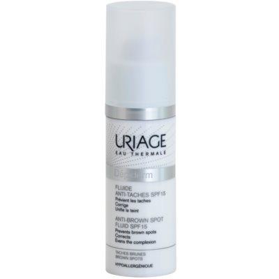 Uriage Dépiderm fluid przeciw przebarwieniom SPF 15