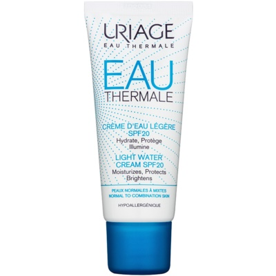 Uriage Eau Thermale Light Moisturizing Cream SPF 20