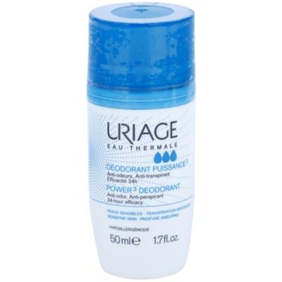Uriage Hygiene дезодорант с шариковым аппликатором против белых и желтых пятен