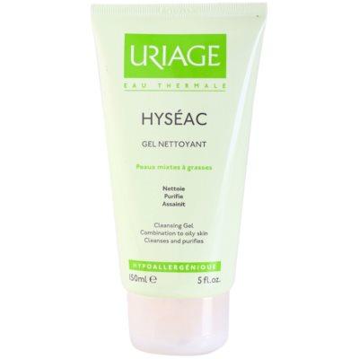 Uriage Hyséac очищающий гель для жирной и смешанной кожи