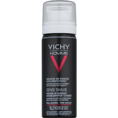 Vichy Homme Anti-Irritation Shaving Foam for Sensitive and Irritable Skin