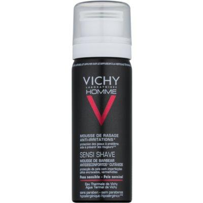 Vichy Homme Anti-Irritation Shaving Foam for Sensitive and Irritable Skin