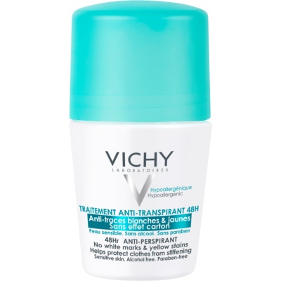 Vichy Deodorant 48Hr Anti - Perspirant, No White Marks & Yellow Stains