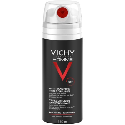 Vichy Homme Deodorant Antiperspirant Spray 72h