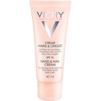 Vichy Hand & Nail crème nourrissante mains et ongles anti-taches brunes
