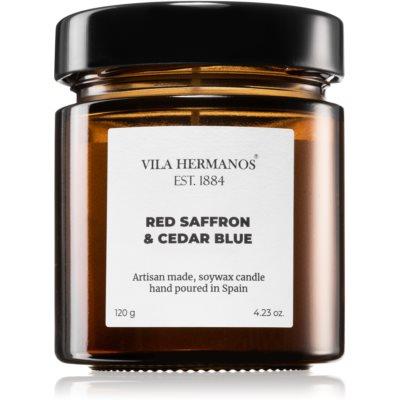 Vila HermanosApothecary Red Saffron & Cedar Blue