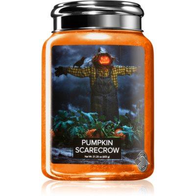 Village CandlePumpkin Scarecrow