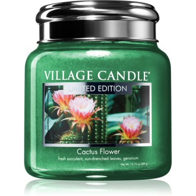 Village CandleCactus Flower