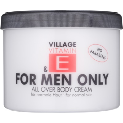 Village Vitamin E For Men Only Κρέμα σώματος