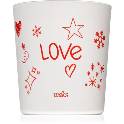 Waks Cinnamon Spice scented candle