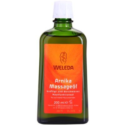 Weleda Arnica массажное масло с арникой