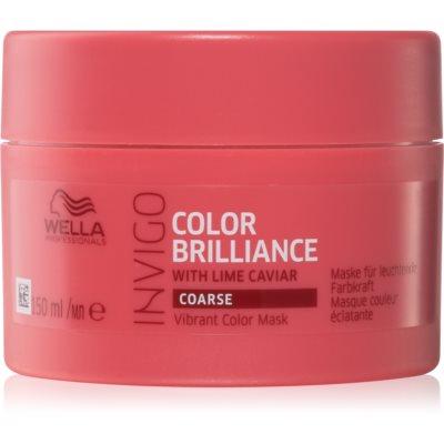 Wella Professionals Invigo Color Brilliance Maszk vastag festett hajra