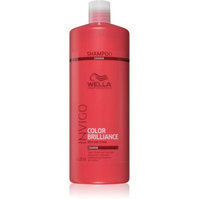 Wella Professionals Invigo Color Brilliance šampon pro husté barvené vlasy