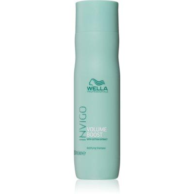 Wella Professionals Invigo Volume Boost shampoo volumizzante