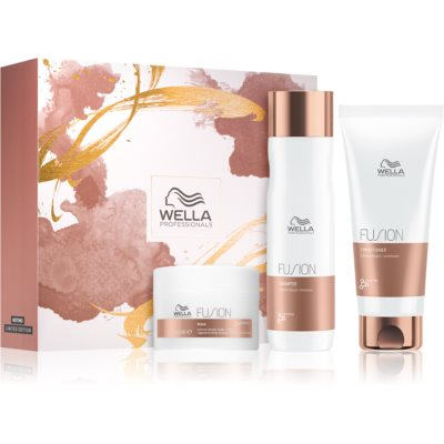 Wella Professionals Fusion Cosmetic Set (For Damaged Hair)