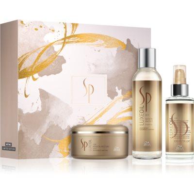 Wella Professionals SP Luxe Oil kosmetická sada (pro poškozené vlasy)