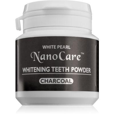 White Pearl NanoCare puder wybielający do zębów z węglem aktywnym