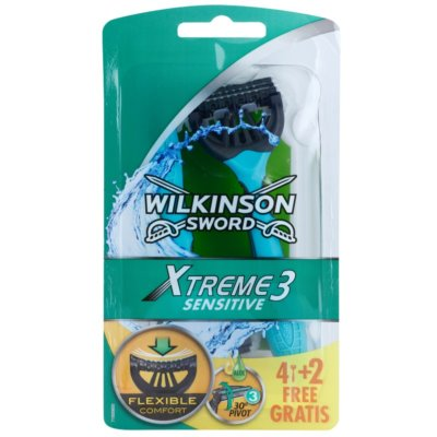 Wilkinson Sword Xtreme 3 Sensitive Wegwerp Scheermessen