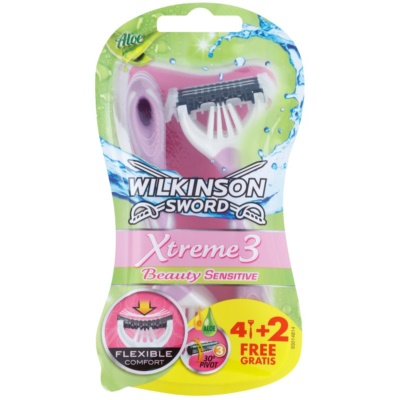 Wilkinson Sword Xtreme 3 Beauty Sensitive Disposable Razors
