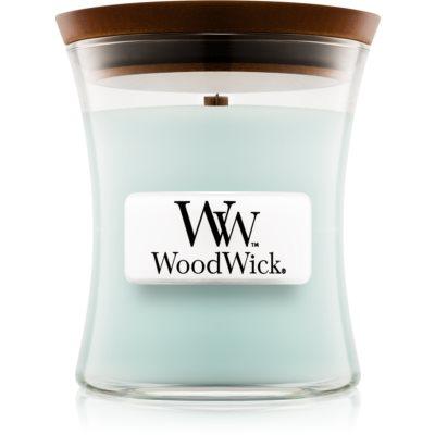 Woodwick Pure Comfort vela perfumada  con mecha de madera