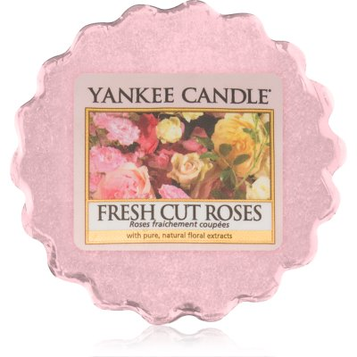 Yankee Candle Fresh Cut Roses duftwachs für aromalampe