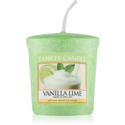 Yankee Candle Vanilla Lime votive candle