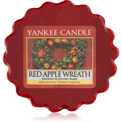 Yankee Candle Red Apple Wreath cera para lámparas aromáticas