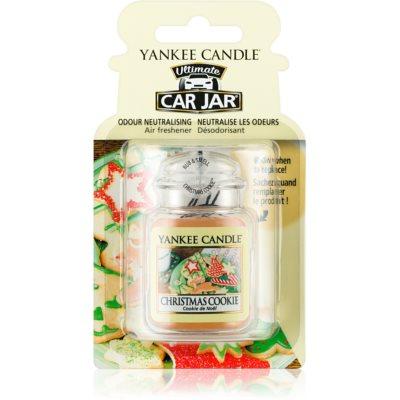 Yankee Candle Christmas Cookie illat autóba   felakasztható autóillatosító