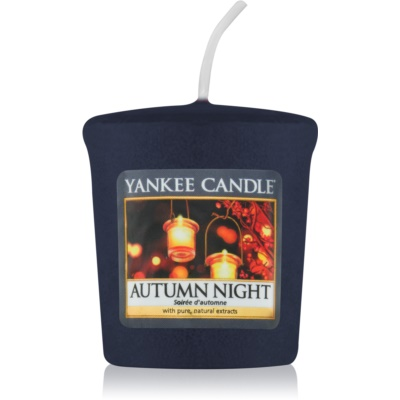 Yankee Candle Autumn Night velas votivas