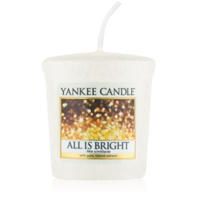Yankee Candle All is Bright candela votiva