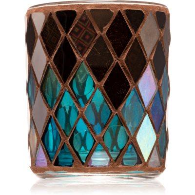 Yankee Candle Autumn Mosaic скляний підсвічник для вотивної свічки